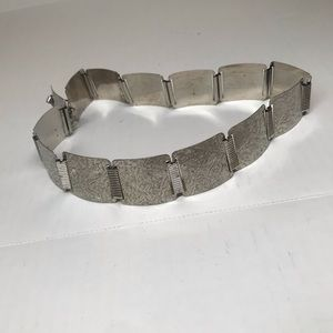 Vintage Silver plated Concho Belt